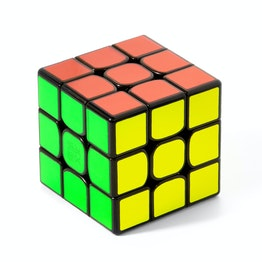 MoYu WeiLong GTS2M 3x3 magnetic speed cube, black