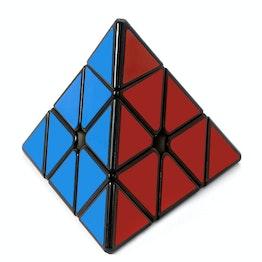 QiYi Bell Pyraminx X-Man Design magnetic Pyraminx cube, black