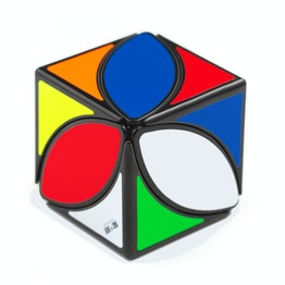 QiYi MoFangGe Ivy Cube shape mod, black