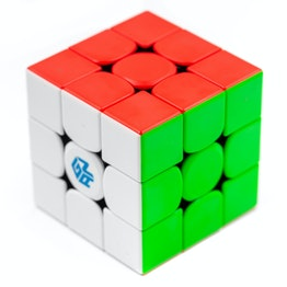 GAN356 XS 3x3 magnetic speed cube, stickerless
