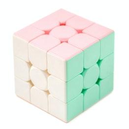 MoYu MFJS MeiLong Macaron 3x3 Speedcube, stickerless, pastellfarben