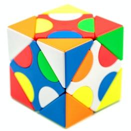 MoYu MFJS MeiLong Skewb Mixup I Skewb shape mod, stickerless