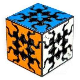 QiYi Gear Cube 3x3 (Tiled) black