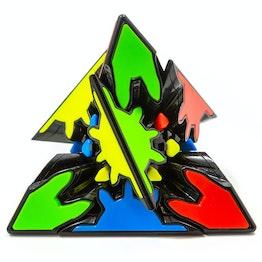 QiYi Gear Pyraminx (Tiled) black