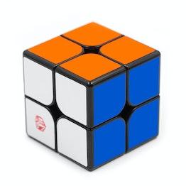 QiYi X-Man Flare 2x2 Magnetic magnetic speed cube, black