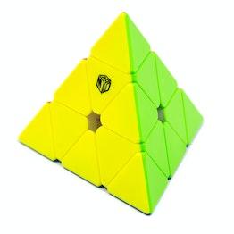 Qiyi X-Man Bell Magnetic Pyraminx V2 pyraminx magnétique, stickerless