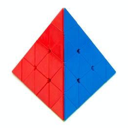 QiYi Master Pyraminx Zauberpyramide, stickerless
