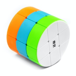QiYi Cylinder Cube 3x3 shape mod, stickerless