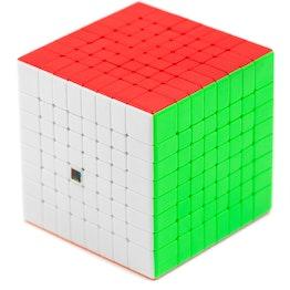 MoYu MFJS MeiLong 8x8 speed cube, stickerless