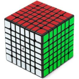 YJ MGC 7x7 M magnetischer Speedcube, schwarz