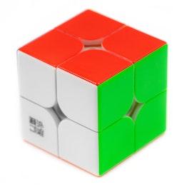 YJ YuPo 2x2 V2 M magnetischer Speedcube, stickerless