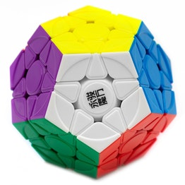 YJ YuHu Megaminx V2 M magnetisch, stickerless, sculpted design