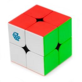 GAN251 M 2x2 magnetischer Speedcube, stickerless